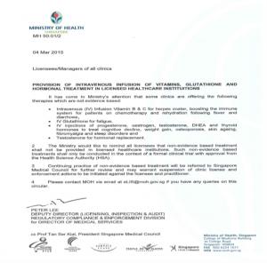 MoH Letter 2
